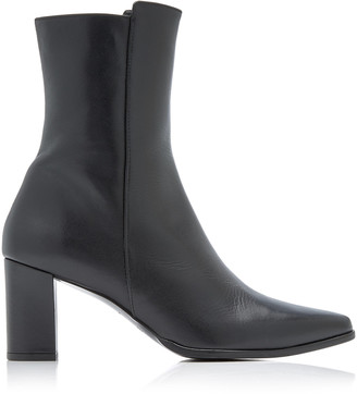 Flattered Teddie Leather Ankle Boots