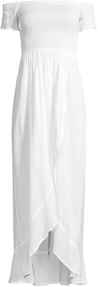 Tiare Hawaii Cheyenne Off-The-Shoulder Cover-Up
