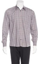 Dries Van Noten Plaid Button-Up Shirt