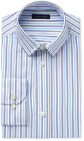 Tommy Hilfiger Boys' Twill Stripe Long-Sleeve Button-Up Shirt