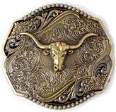 Sam Store Vintage Color Longhorn Western Style Belt Buckle Cowboy Motorcyclist (CW-05)