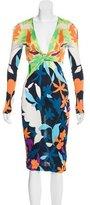 Missoni Abstract Print Long Sleeve Dress