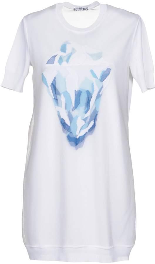 Ice Iceberg Short dresses