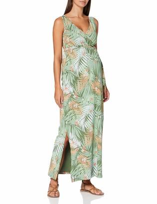 Mama Licious Mamalicious Women's Mlcorine Tess Sl Jersey Maxi Dress 2f