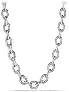 "David Yurman Oval Extra-Large Link Necklace/18"""