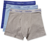 Calvin Klein Underwear Cotton Stretch Trunks (3 Pack)