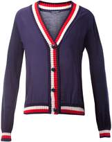 Tommy Hilfiger Etia Fabric Mix V-Neck Cardigan