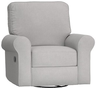 Pottery Barn Kids Classic Small Comfort Swivel Glider & Recliner