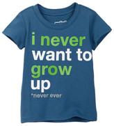 Mighty Fine Never Want To Grow Up Tee (Baby Boys)
