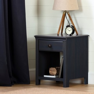 South Shore Cotton Candy 1-Drawer Nightstand, Blueberry