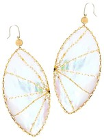 Lana 14K Yellow Gold Large Isabella Mother-of-Pearl Earrings