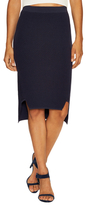 Jonathan Simkhai Tread Textured Rib Panel Pencil Skirt