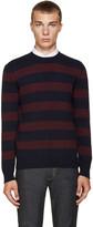A.P.C. Navy Vegas Sweater