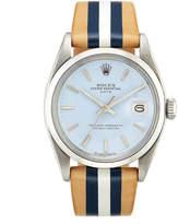 Rolex La Californienne 34Mm Brenton Oyster Perpetual Date Watch