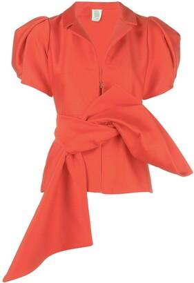 Rosie Assoulin puff sleeve top