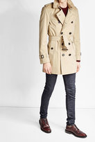 Burberry Kensington Mid Cotton Trench Jacket