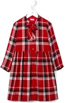 Il Gufo tartan dress - kids - Acetate/Cupro/Viscose/Virgin Wool - 6 yrs