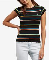 Volcom Juniors' Striped Baby T-Shirt