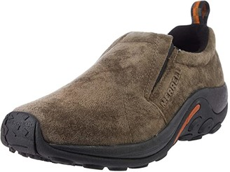 Merrell SINGLE SHOE- Jungle Moc (Gunsmoke Suede) Men's Shoes