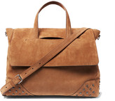 Tod's Suede Tote Bag