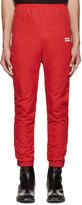Vetements Red unidad Hombres Track Pants