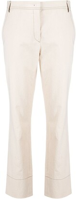 Odeeh Mid-Rise Flared Trousers