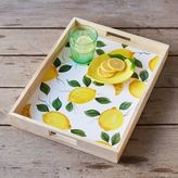 Sur La Table Lemon Rectangular Tray