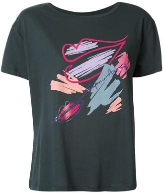 Emporio Armani branded lips T-shirt