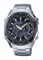 Casio Edifice Mens Stainless Steel Multifunction Watch EQS500DB-1A1