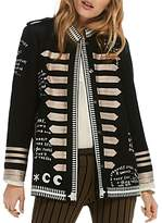 Scotch & Soda Embroidered Captain's Jacket