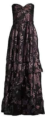 Shoshanna Women's Toriana Strapless High-Low Gown