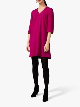 Phase Eight Elmira Swing Dress, Magenta