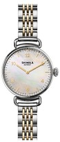 Shinola Women's The Canfield Watch Gift Set, 32Mm