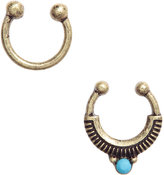 H&M 2-pack Nose Rings - Gold-colored - Ladies