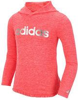 adidas Girls 2-6x Make Your Mark Mlange Clima Hoodie