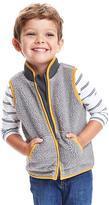 Old Navy Color-Block Sherpa Vest for Toddler