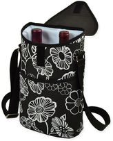 Picnic at Ascot 2-Bottle Printed Wine/Water Bottle Tote