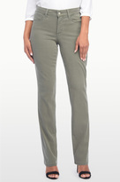 NYDJ Marilyn Straight In Chino Twill In Petite