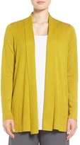 Eileen Fisher Women's Tencel & Organic Cotton Blend Cardigan