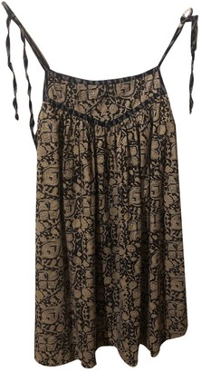 soeur Beige Cotton Dresses