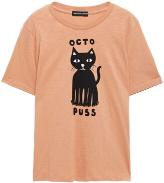 Markus Lupfer Printed Slub Cotton-jersey T-shirt