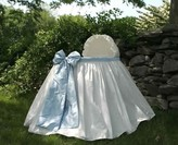 The Well Appointed House Lulla Smith Angel Baby Bassinet with Blue Bow