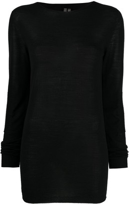 Rick Owens Ribbed Knitted Top