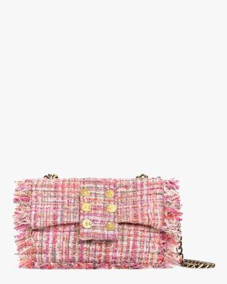 Kooreloo Pink San Francisco Pillow Tweed Shoulder Bag