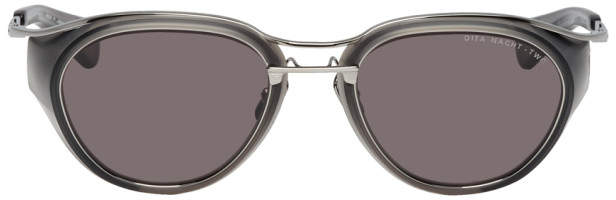 Dita Gunmetal and Grey Matte Nacht-Two Sunglasses