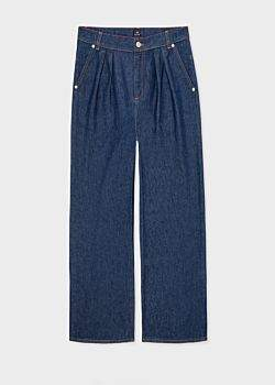 Paul Smith Women's Wide-Leg Indigo Denim Jeans