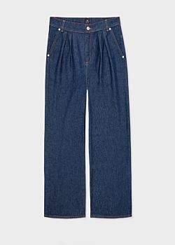 Paul Smith Women's Wide-Leg Indigo Denim Jeans