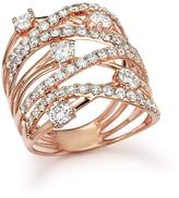 Bloomingdale's Diamond Statement Ring in 14K Rose Gold, 2.25 ct. t.w.