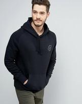 Jack Wills Batsford Logo Hoodie in Black