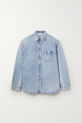 Alexander Wang Oversized Denim Shirt - Light denim